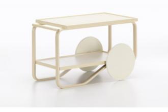 carro camarera tea trolley de alvar aalto de la marca artek