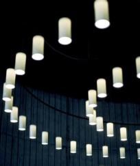 Lámpara Cirio Circular