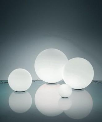 Lámpara sobremesa Dioscuri Tavolo Artemide cristal
