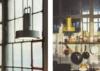 Lámpara de suspensión metálica, tipo industrial. Diseño equipo Santa & Cole. Mejor precio