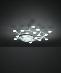 Lámpara Led Net Circle Techo