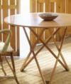Mesa elevable de madera de santa y cole