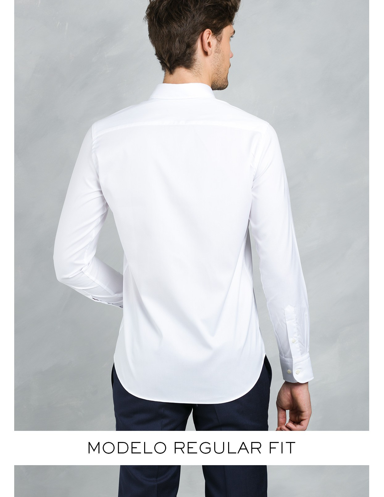 Camisa Formal Wear REGULAR FIT modelo BOTTON DOWN color azul , 100% Algodón. - Ítem2