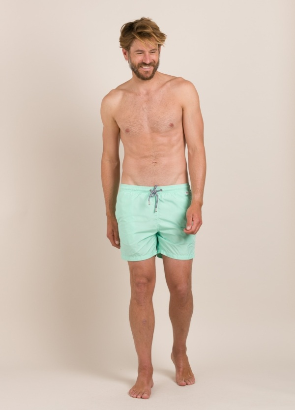Bañador MC2 liso pantone verde