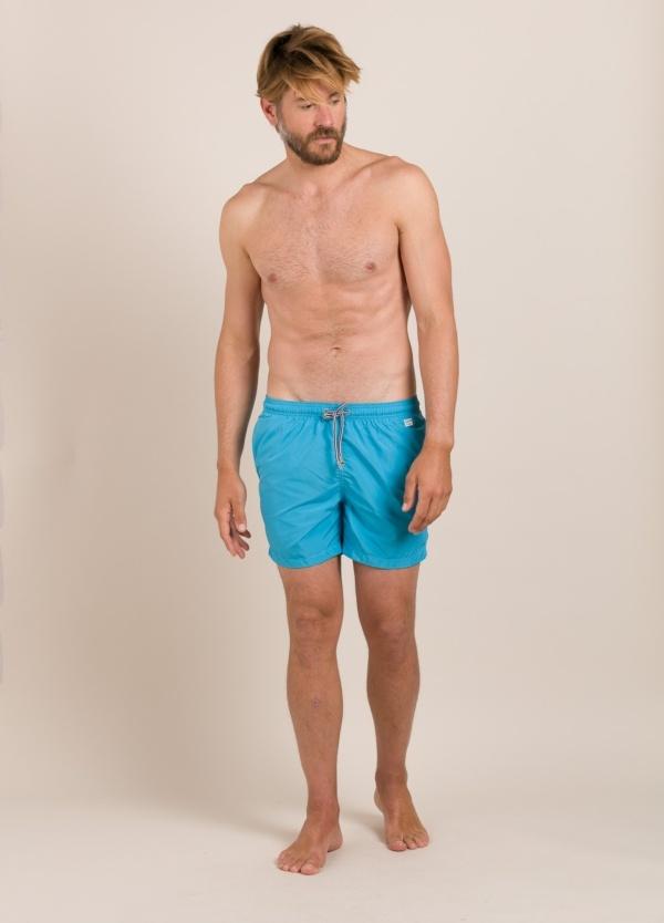Bañador MC2 liso pantone azul
