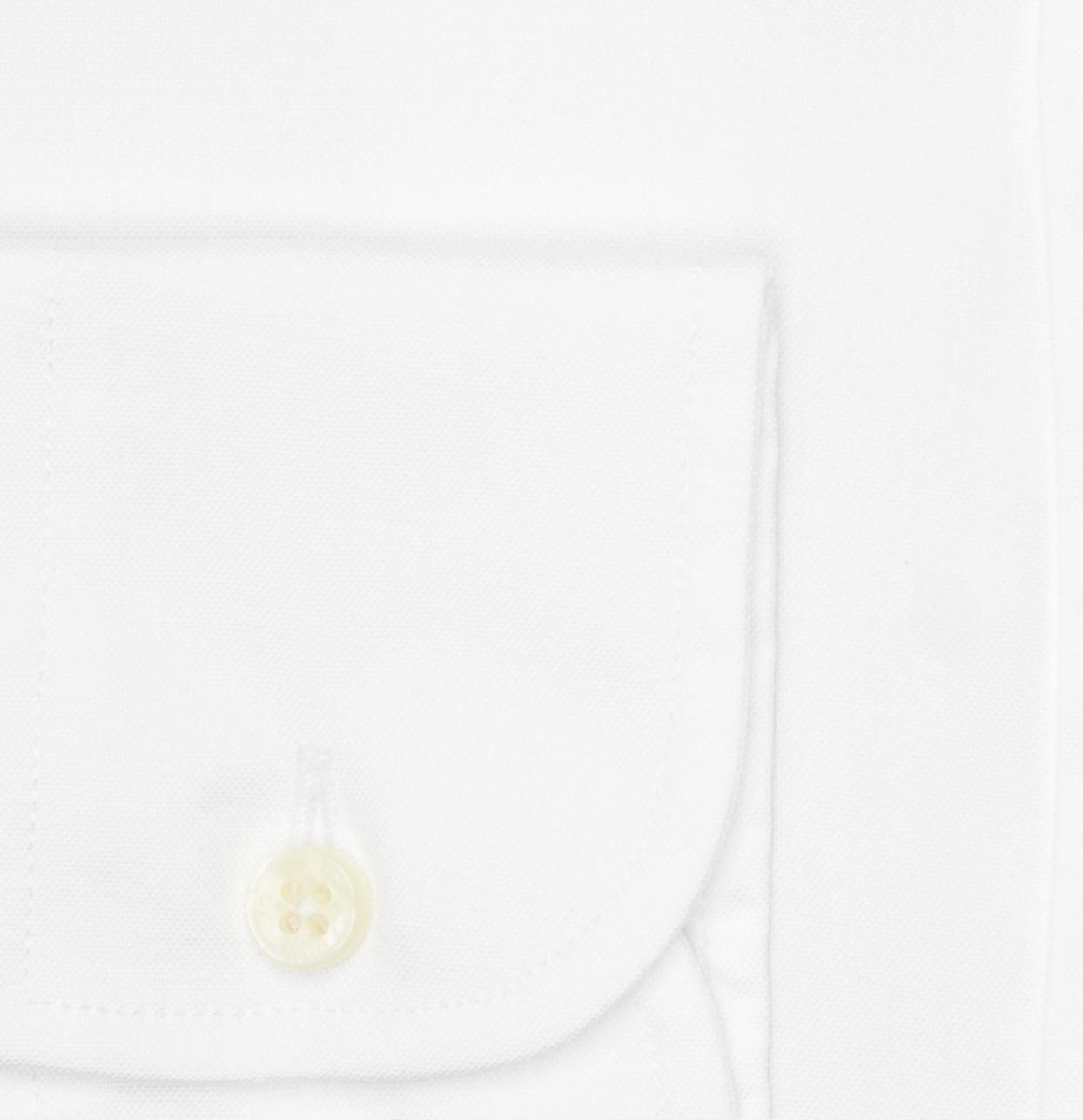 Camisa Formal Wear REGULAR FIT Modelo BOTTON DOWN Tejido Pin point color blanco, 100% Algodón - Ítem1