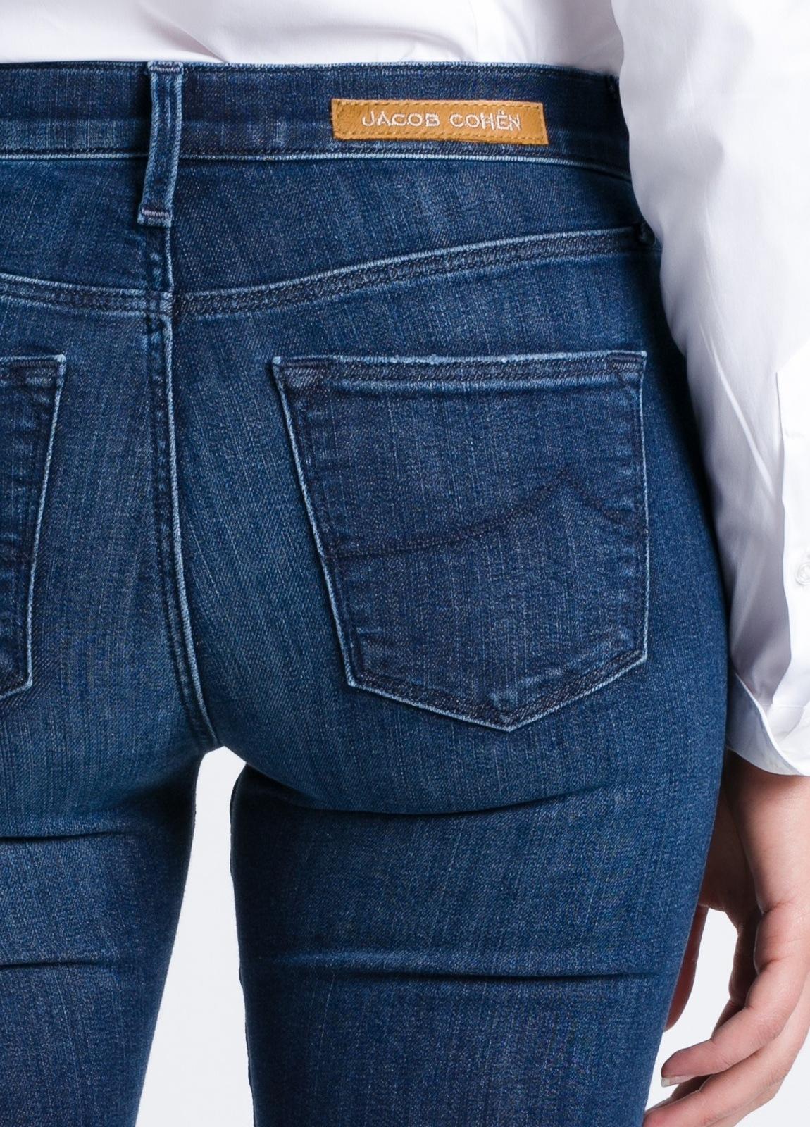 Pantalón tejano woman modelo KIMBERLY SLIM, color azul lavado. - Ítem1