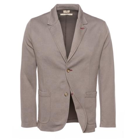 Americana Formal Wear tipo punto, color marrón, 85% Algodón 10% Poliamida 5% Elastán