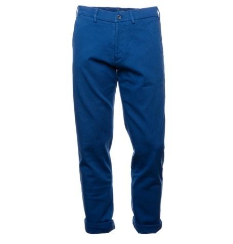 Pantalón chino Casual Wear SLIM FIT color azul tinta, 100% Algodón