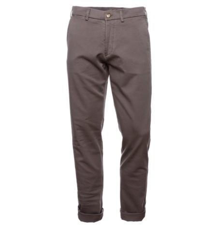 Pantalón chino Casual Wear SLIM FIT color gris, 100% Algodón