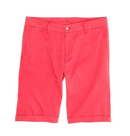 Short Furest Casual Wear color coral, 100% Algodón.