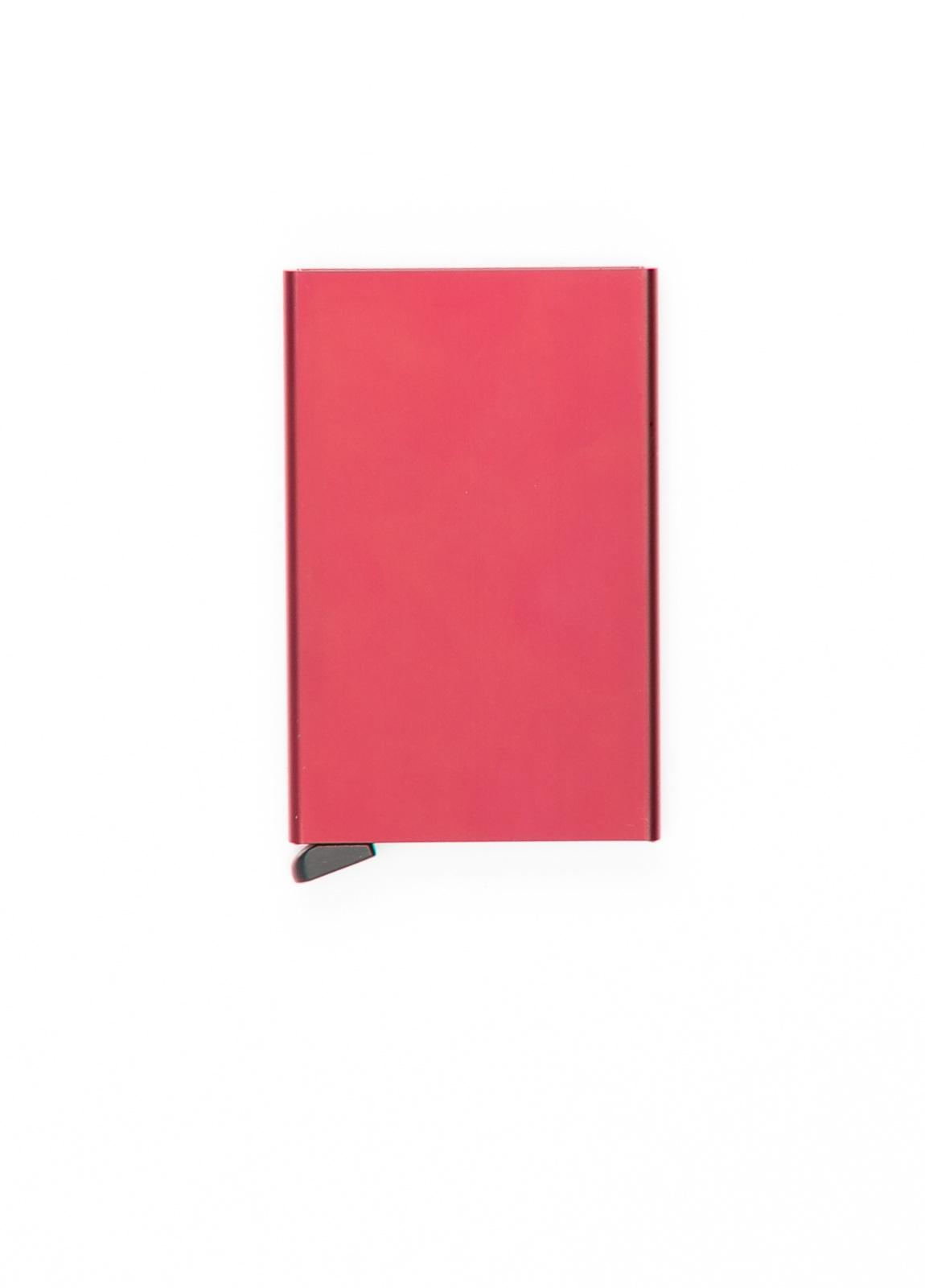 Secrid slim wallet con cardprotector de aluminio ultrafino, color burdeos