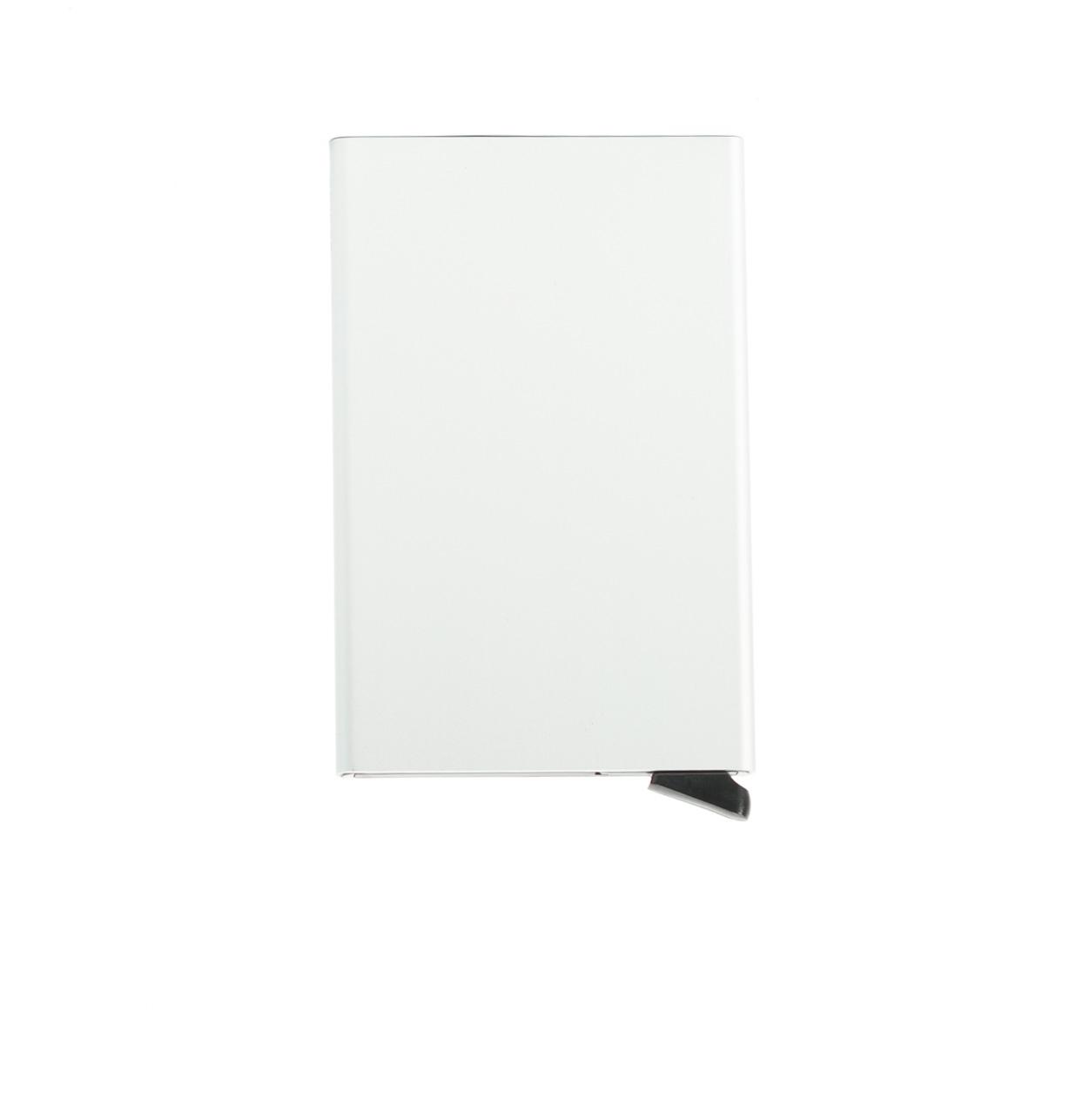 Secrid slim wallet con cardprotector de aluminio ultrafino, color aluminio.