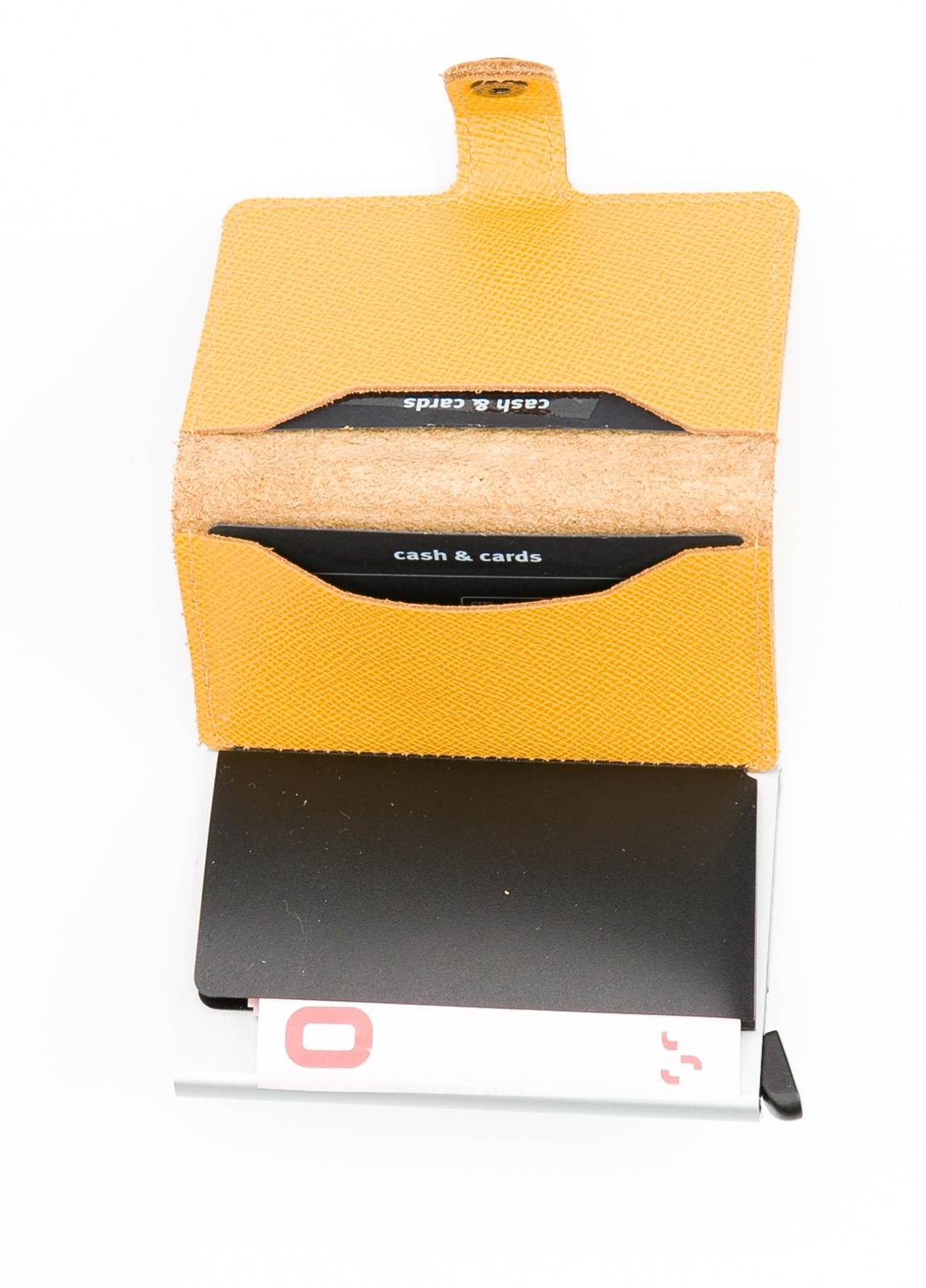 Tarjetero Secrid MINIWALLET Piel amarillo - Ítem1