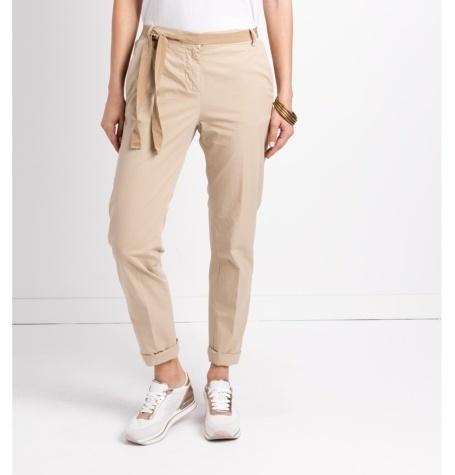 Pantalón soft woman modelo PAPILLON color beige.