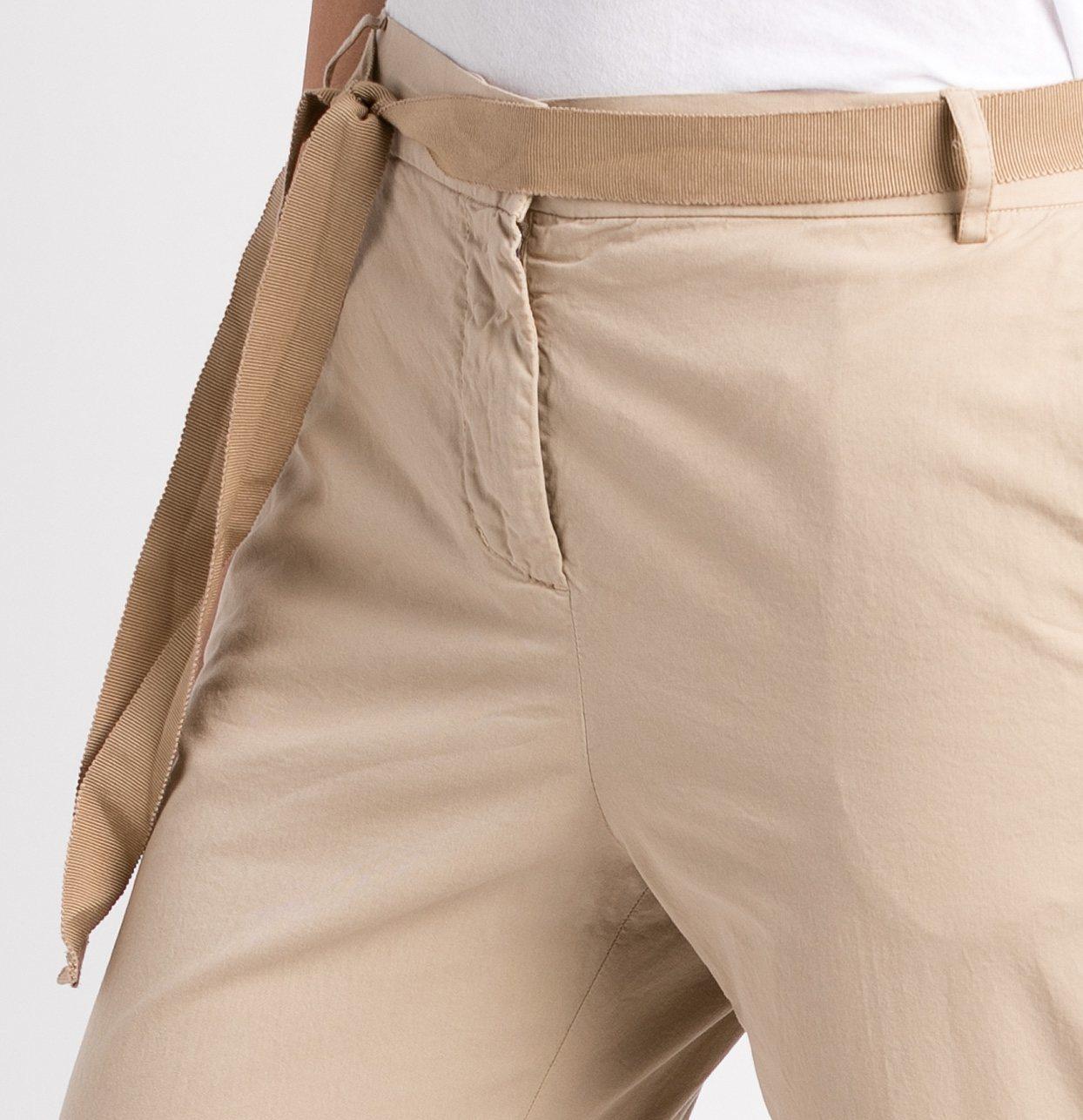 Pantalón soft woman modelo PAPILLON color beige. - Ítem1