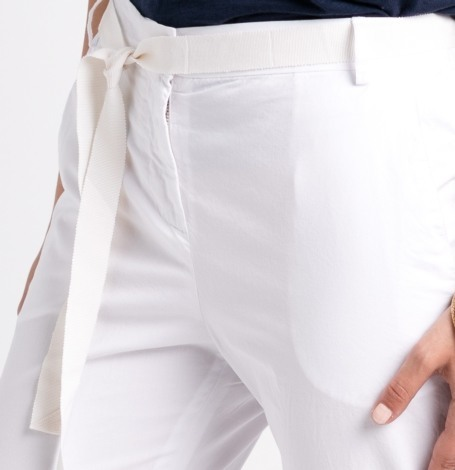 Pantalón soft woman modelo PAPILLON color blanco. - Ítem1