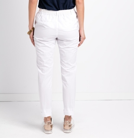 Pantalón soft woman modelo PAPILLON color blanco. - Ítem2
