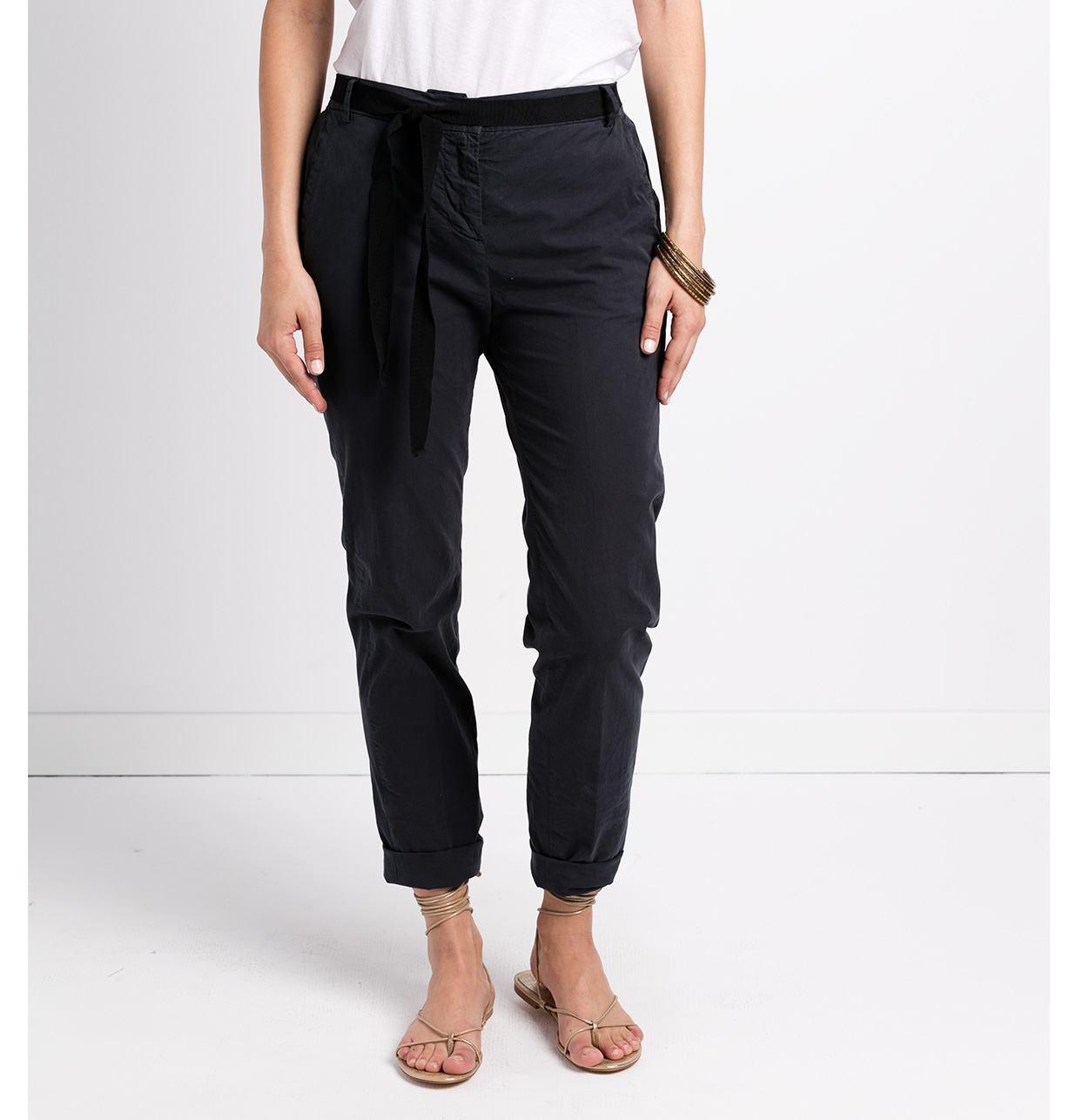 Pantalón soft woman modelo PAPILLON color azul.