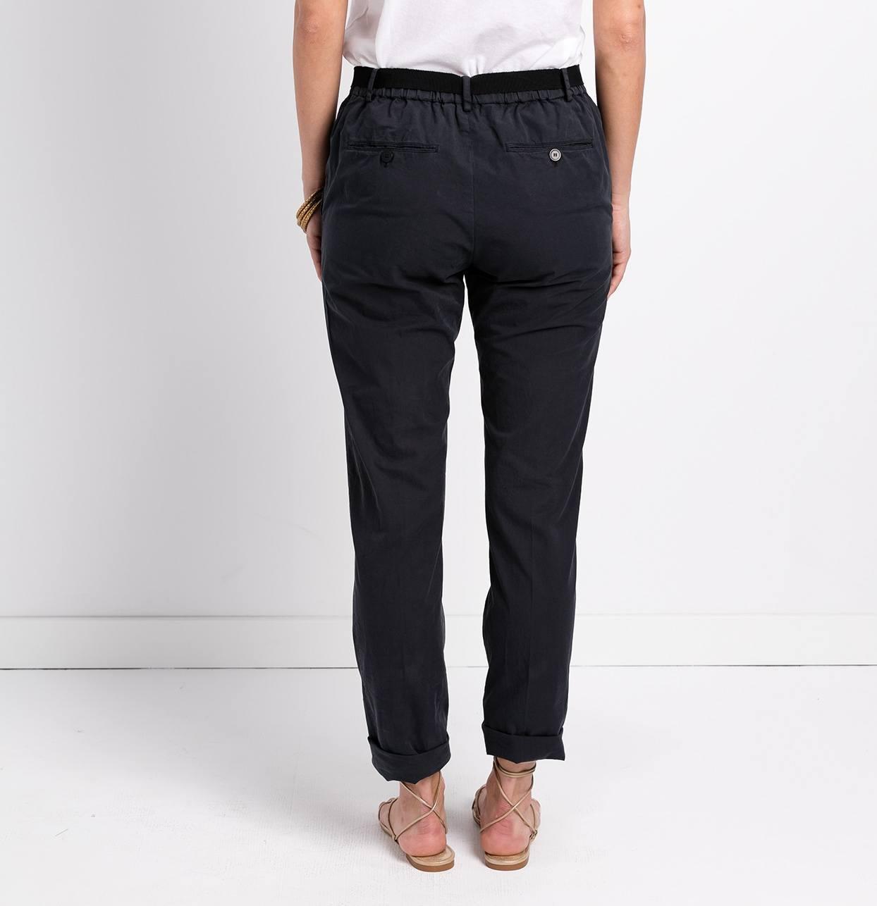 Pantalón soft woman modelo PAPILLON color azul. - Ítem1