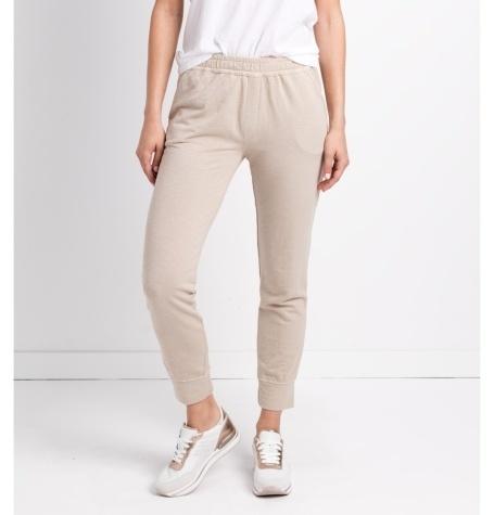 Pantalón soft woman modelo FRANKLIN PANT color beige.