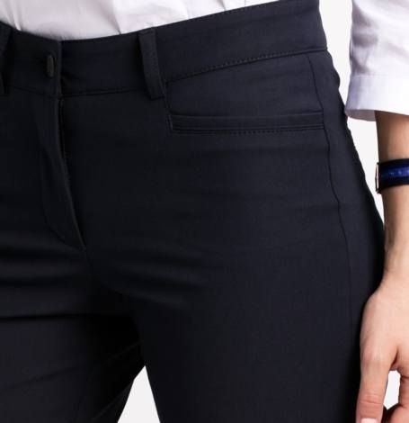 Pantalón formal woman, azul marino. - Ítem1