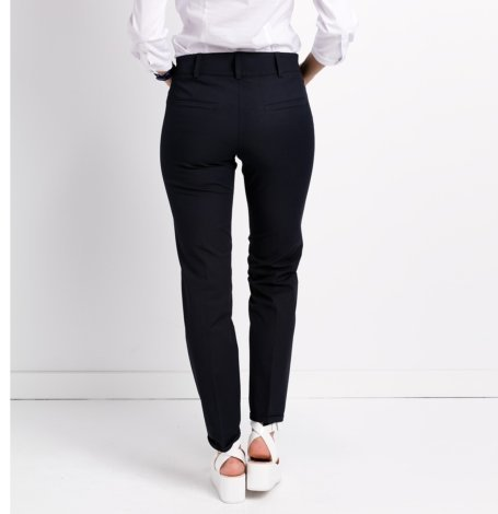 Pantalón formal woman, azul marino. - Ítem2