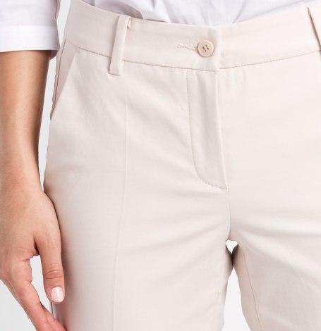 Pantalón woman regular fit color beige - Ítem1