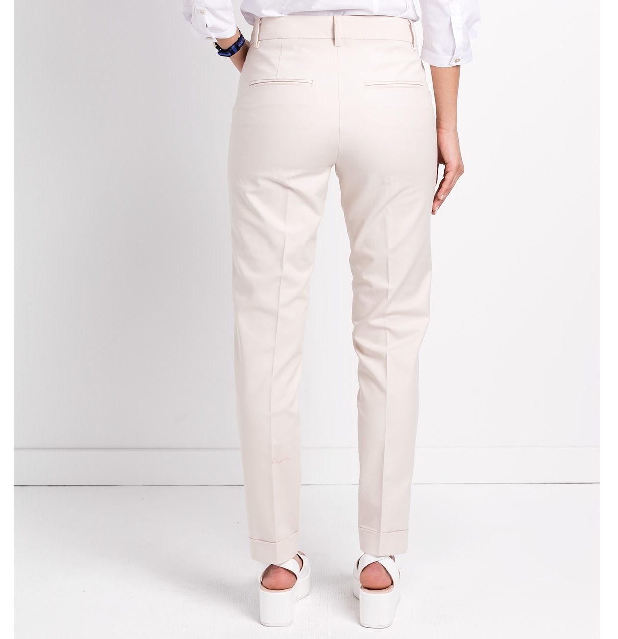 Pantalón woman regular fit color beige - Ítem2
