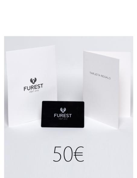 Tarjeta regalo en sobre Furest. El regalo con el que siempre acertarás.