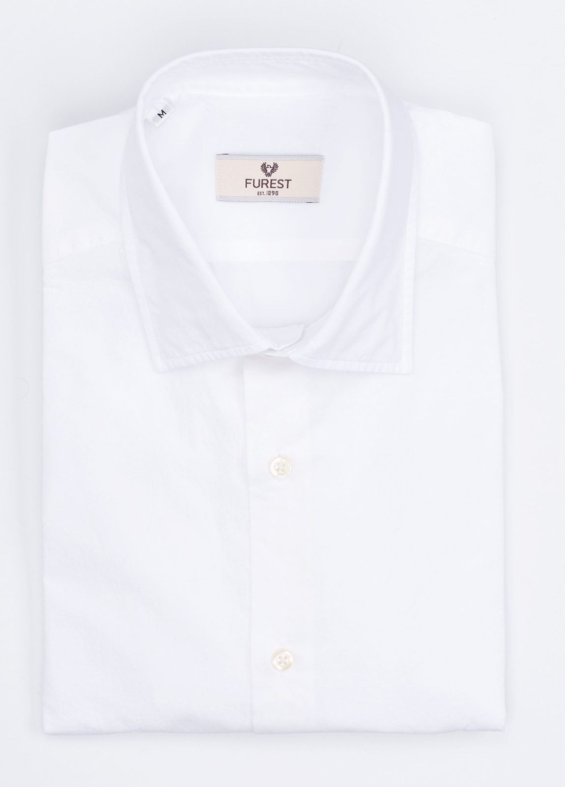 Camisa Leisure Wear SLIM FIT modelo PORTO color blanco. 100% Algodón.