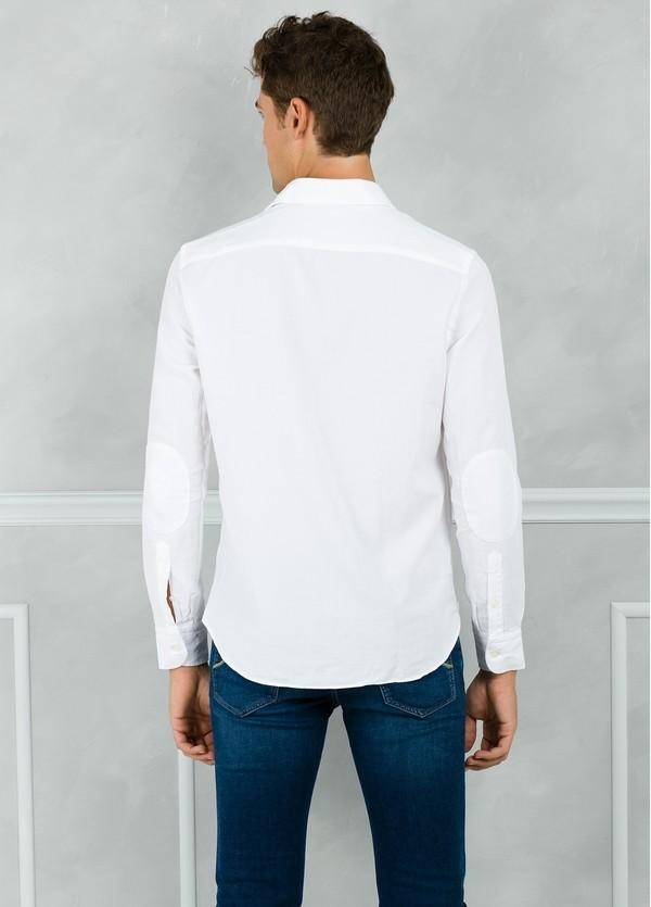 Camisa Leisure Wear REGULAR FIT modelo PORTO color blanco. 100% Algodón. - Ítem1