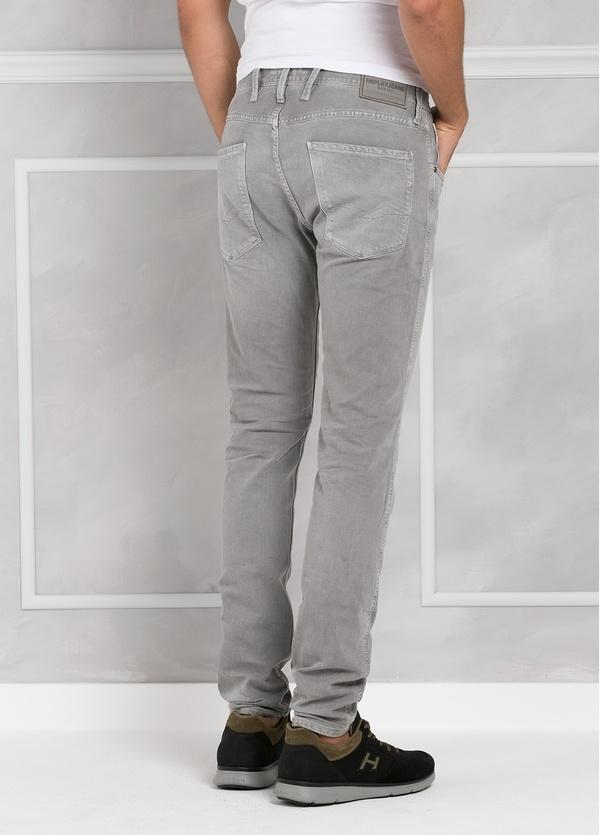 Pantalón tejano 9,5 oz SLIM M914 ANBASS color gris lavado. 98% Algodón 2% elastán. - Ítem3