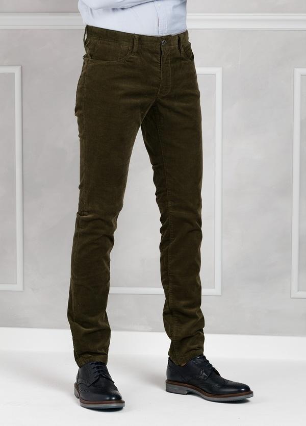 Pantalón 5 bolsillos micropana modelo FRED color kaki. 98% Algodón 2% Elastano. - Ítem3