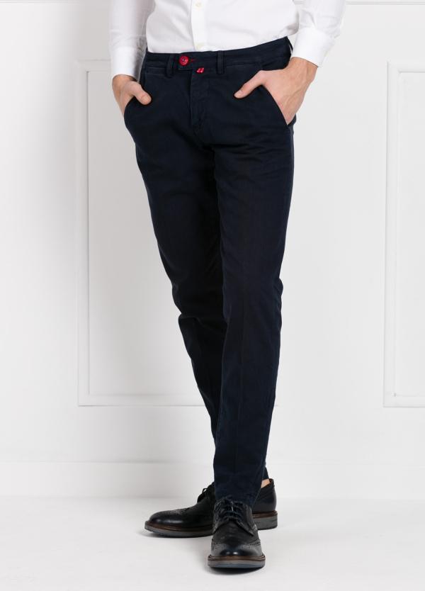 Pantalón chino color azul marino. 100% Algodón canvas.