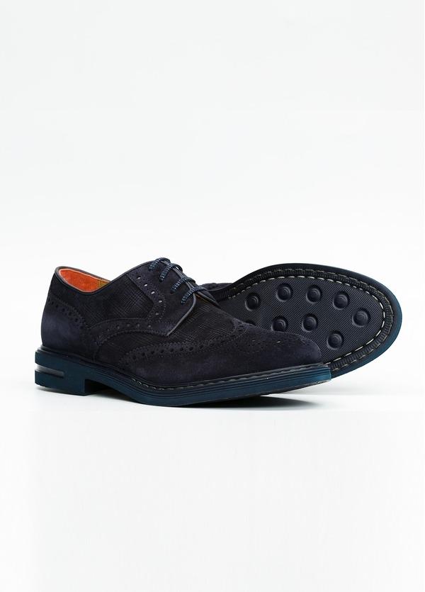 Zapato Formal Wear color azul marino. 100% Serraje. - Ítem2