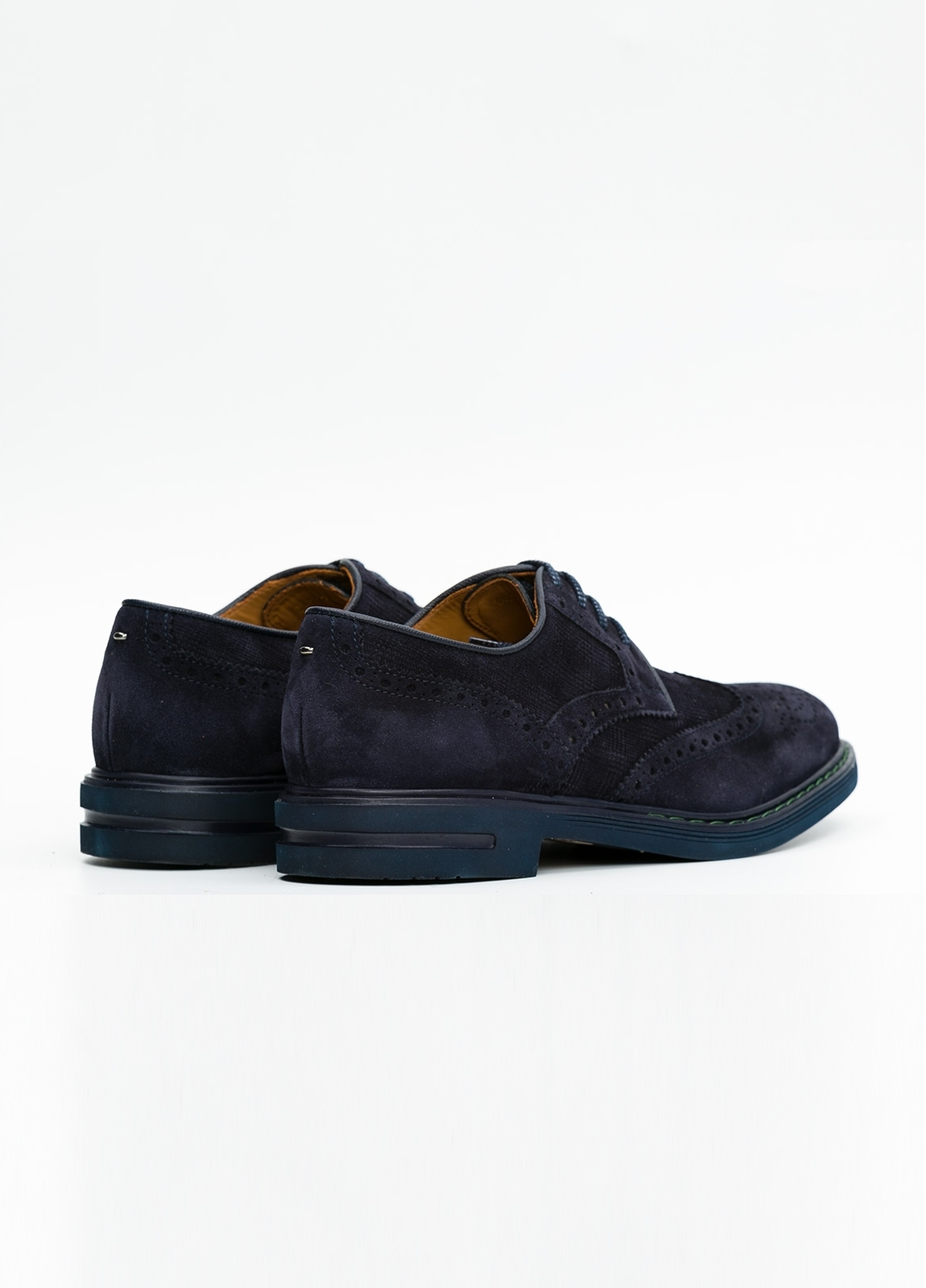 Zapato Formal Wear color azul marino. 100% Serraje. - Ítem4