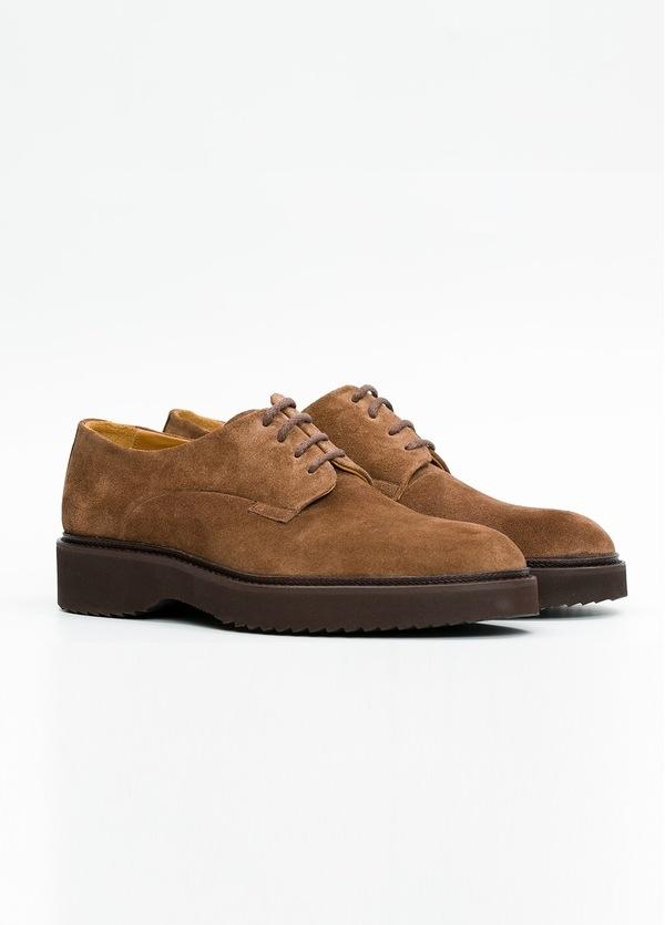 Zapato Sport Wear color tostado. 100% Serraje. - Ítem1