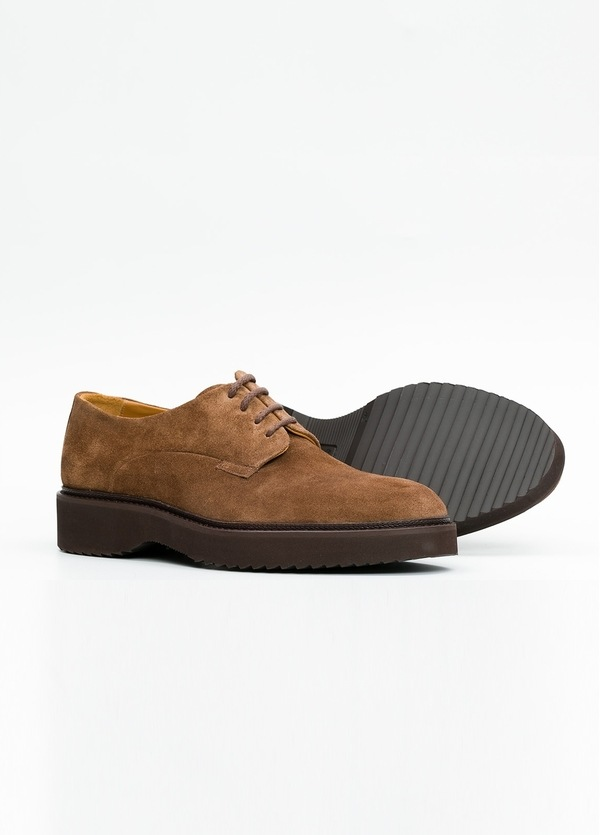 Zapato Sport Wear color tostado. 100% Serraje. - Ítem5