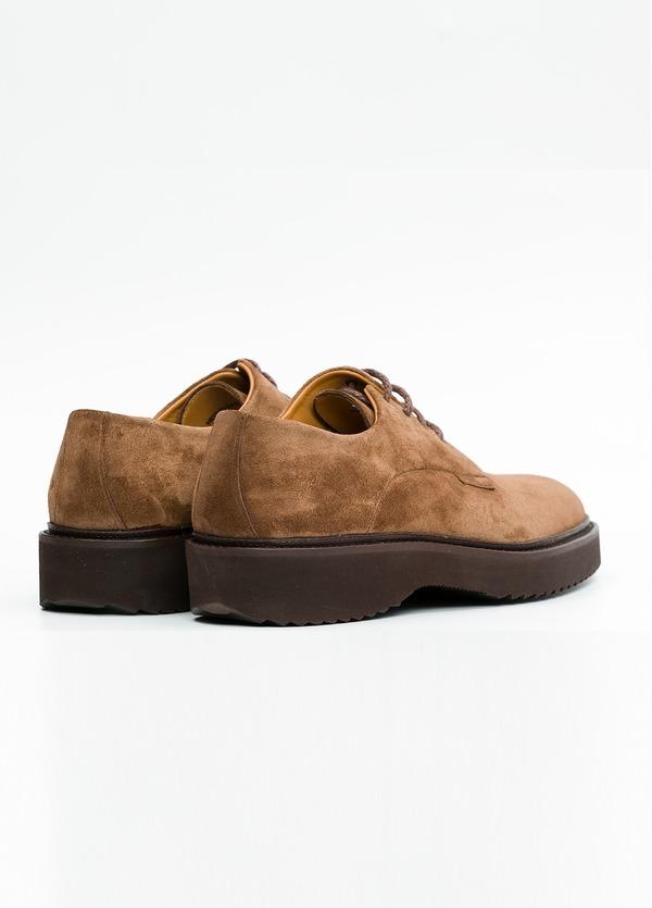 Zapato Sport Wear color tostado. 100% Serraje. - Ítem2