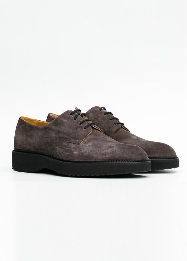 Zapato Sport Wear color gris. 100% Serraje. - Ítem3