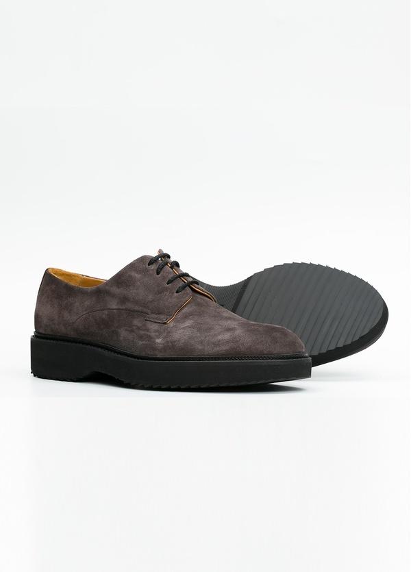 Zapato Sport Wear color gris. 100% Serraje. - Ítem2