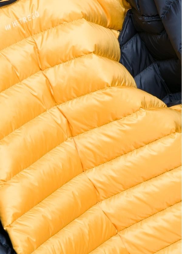 Chaqueta con capucha modelo ZEFIRO color azul marino, tejido técnico. - Ítem2