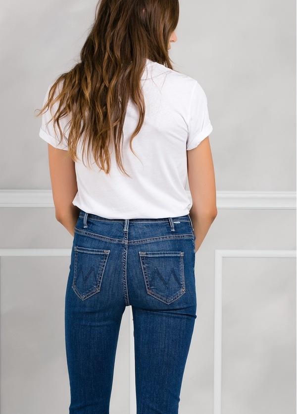 Camiseta woman manga corta con estampado gráfico color blanco. - Ítem2