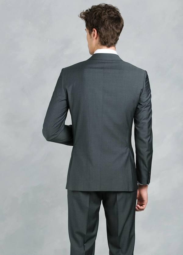 Traje liso REGULAR FIT, tejido GUABELLO, color gris, 100% Lana fría. - Ítem3