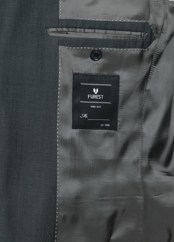Traje liso REGULAR FIT, tejido GUABELLO, color gris, 100% Lana fría. - Ítem1