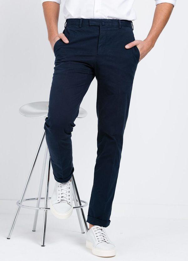 Pantalón Sport SLIM FIT , modelo INCO, color azul marino, 98% Algodón 2% Elastano.