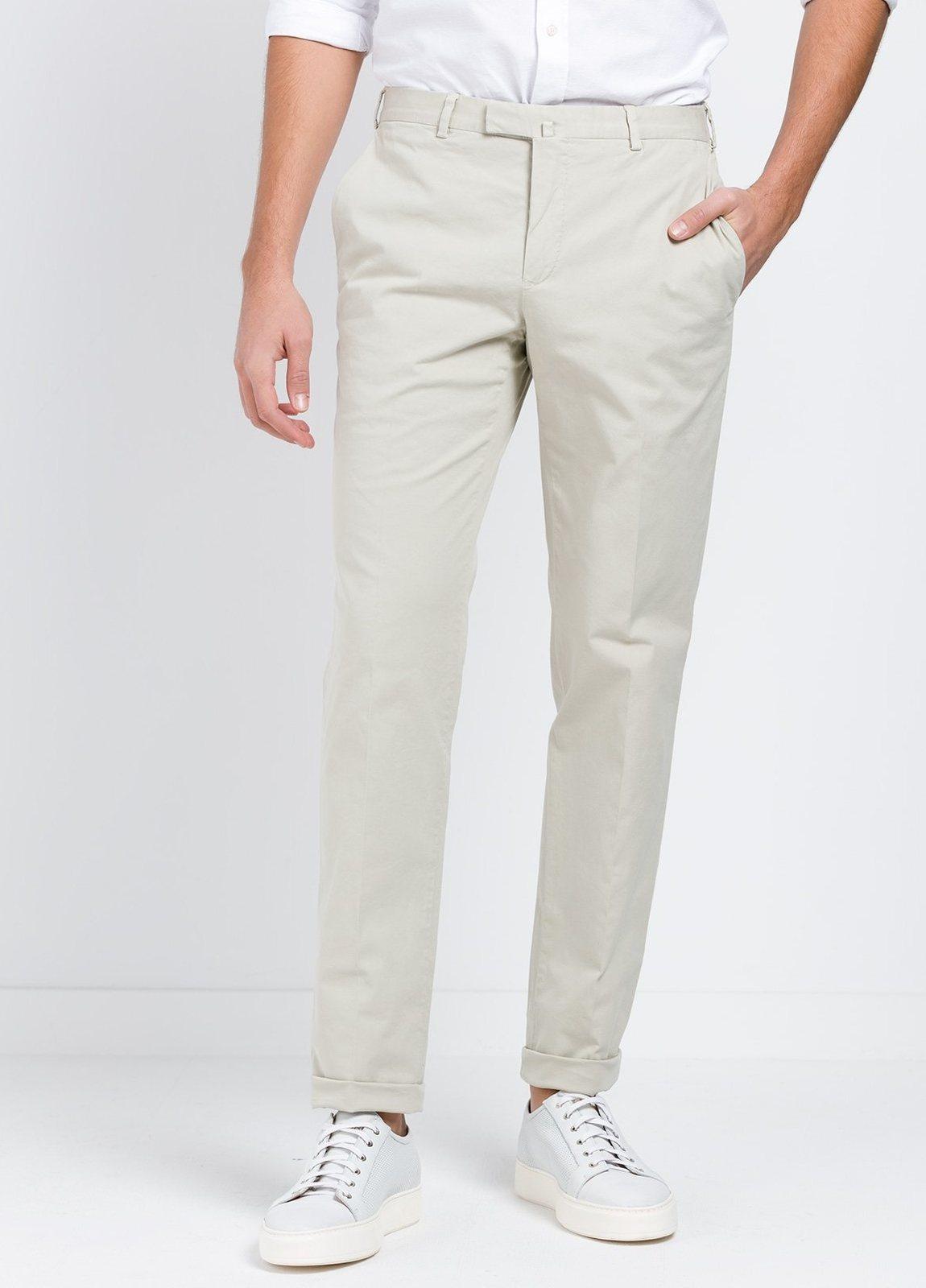 Pantalón Sport SLIM FIT , modelo INCO, color beige, 98% Algodón 2% Elastano. - Ítem3