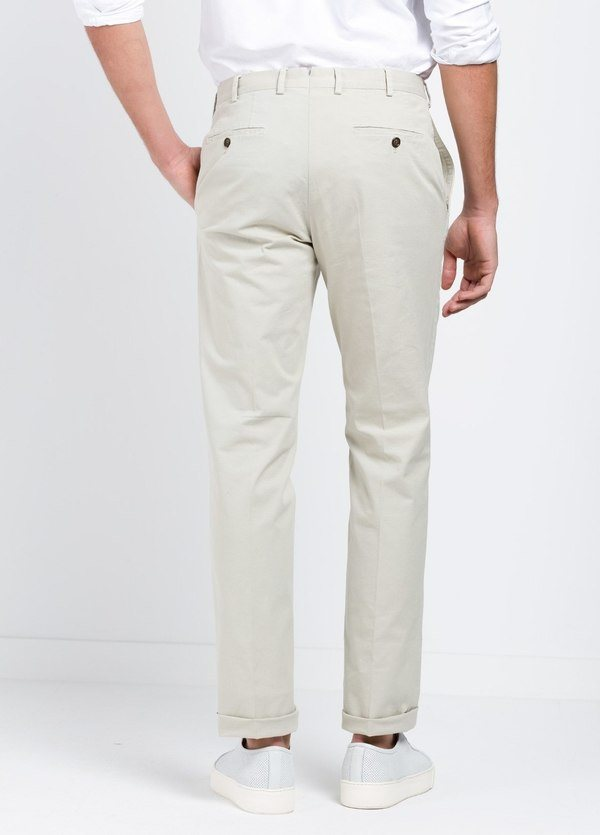 Pantalón Sport SLIM FIT , modelo INCO, color beige, 98% Algodón 2% Elastano. - Ítem2