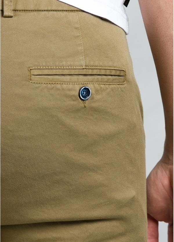 Pantalón Casual Wear, SLIM FIT micro textura color tostado, 97% Algodón 3% Elastómero. - Ítem1